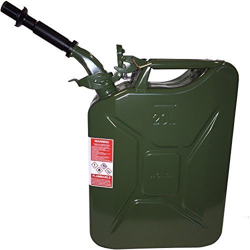 Wavian Authentic NATO Jerry Fuel Can, Green