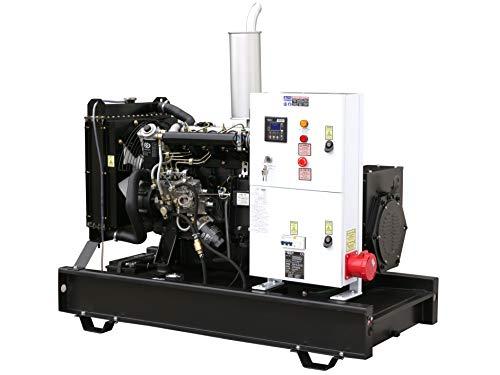 Rotek Stromerzeuger mit wassergekühltem Dieselmotor (15 kW offene Bauform)