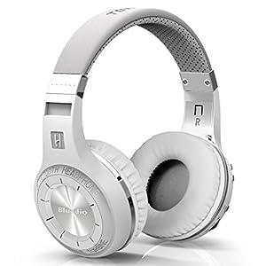 Bluedio HT Turbine Wireless Bluetooth 5.0 Stereo Headphones with Mic (White)