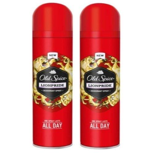 2er Pack Old Spice Wild Collection LIONPRIDE Deodorant Bodyspray 150ml
