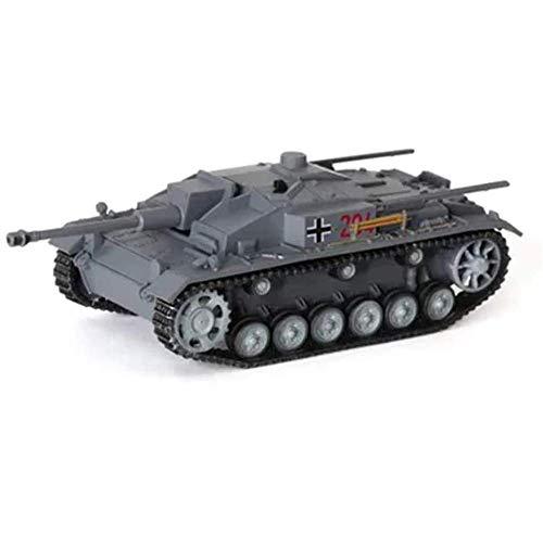 Tanque de Control Remoto Modelo de plástico de Tanque Fundido a Escala 1/72, Pistola de Tanque de Asalto Tipo F de Alemania de la Segunda Guerra Mundial, Juguetes y Regalos Militares