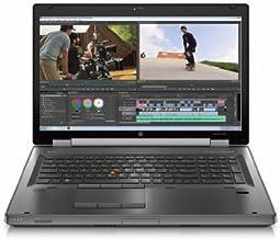 HP EliteBook 8770w C7A69UT 17.3-Inch Notebook (2.4 GHz Intel Core i7-3630QM Processor, 8GB SO-DIMM DDR3, 500GB HDD, AMD Fi...