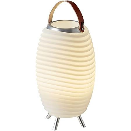 Kooduu Synergy 35 Pro - 3-en-1 Lampe LED Portable, Enceinte Bluetooth, Seau à Vin & Champagne - Lampe Glaciere - Lecteur de Musique sans Fil & Glace Lumineux pour Fêtes - Batterie Rechargeable 10h