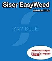 Siser EasyWeed アイロン接着 熱転写ビニール - 15インチ 10 Yards ブラック HTV4USEW15x10YD