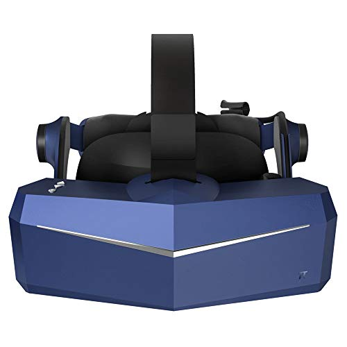 Pimax Vision 8K X VR Headset with Dual Native 4K CLPL Displays, 200 Degrees FOV, Fast-Switched Gaming RGB Pixel Matrix Panels for PC VR Steam Games Videos, USB Powered, Modular Audio Strap