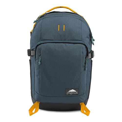 JanSport Gnarly Gnapsack 30 Backpack  Stylish and Practical Laptop Bag Dark Slate Ripstop 30L