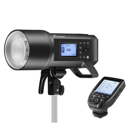 Flashpoint XPLOR 600PRO TTL Battery-Powered Monolight with Built-in R2 2.4GHz Radio Remote System R2 Pro Transmitter for Fujifilm (Bowens Mount) - Godox AD600 Pro
