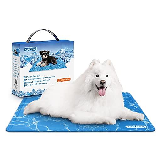 Nobleza – Alfombrilla refrescante para Mascotas Grandes. Auto refrigerante No tóxico. Ideal para...