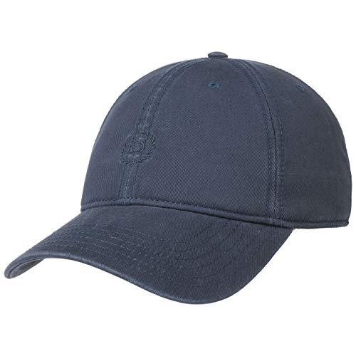 Bugatti Baumwollcap mit Fleecefutter Baseballcap Basecap Strapback Cap (S/M (55-57 cm) - blau)