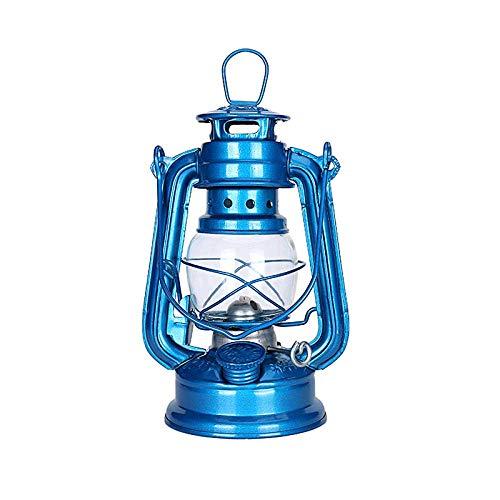 Camping Lichter Camping Leuchten und Laternen Wiederaufladbare Licht 20Cm Retro Kerosene Lanternssly Lichter Jahrgang Petroleumlampe Leakproof Seal rostet nicht Outdoor-Camping-Lights-Schwarz LOLDF1
