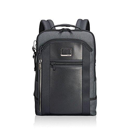 "Tumi Alpha Bravo - Davis Laptop Backpack 15"" Mochila Tipo Casual, 42 cm, 11.87 Liters, Gris (Anthracite)"