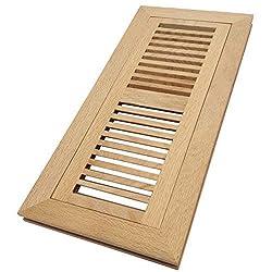 白橡木地板寄存器-冲洗未完成