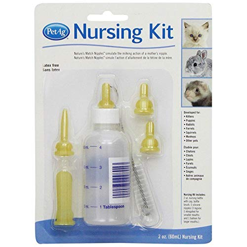 Review Of PetAg Kitten Nursing Kit 2 oz (63 Pack)