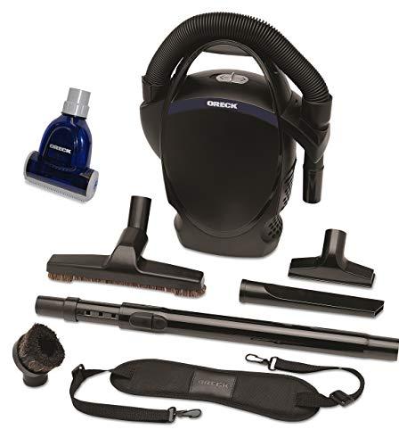 Oreck Ultimate Handheld Bagged Canister Vacuum Bundle with Handheld Pet Hair Turbo Brush, CC1600-TB
