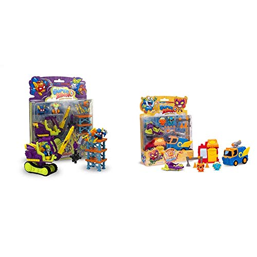 SuperZings Serie 3 Blíster Demolition Mission 2 + Rivals of Kaboom: Bakery Mission (Magic Box INT Toys SZS0401)