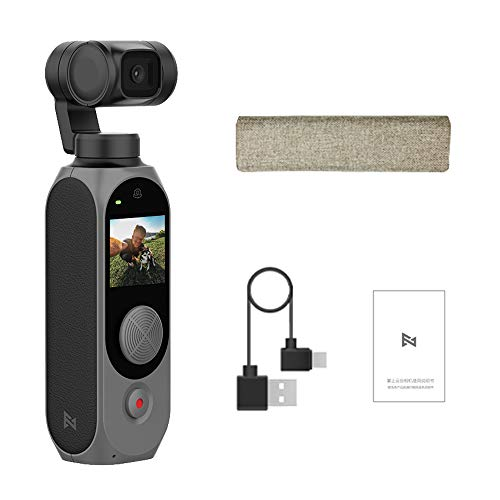 FIMI Palm 2 Gimbal Camera Limted,Attachable to Smartphone, Android (USB-C), iPhone