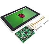 Raspberry Pi 10 Inch Touch Screen - SunFounder 10.1' HDMI 1280x800 IPS LCD Touchscreen for RPi 4 Model B 3 Model B+ 3B 2B LattePanda Beagle Bone