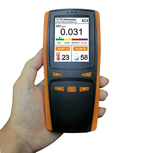LHQ Luftqualität Pollution Monitor Hand Ozonanalysators O3 Ozon-Gas-Detektor Intelligent Sensor Ozon-Messinstrument für Luftqualität Pollution Monitor-Portables Mess