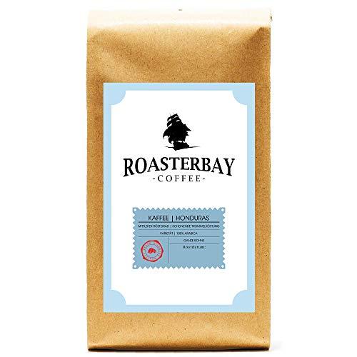 Roasterbay Premium Crema aus Honduras/ Ganze Bohne/ sehr säurearm/ milde Röstung/ sortenreiner Arabica/ für Feinschmecker
