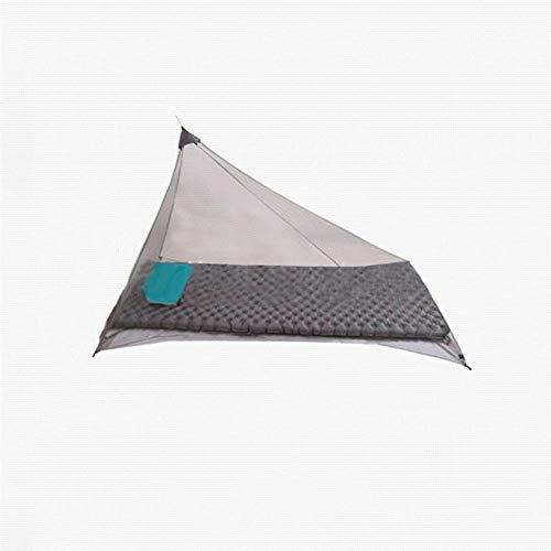 Gran tamaño al aire libre Camping Mosquitero Canopy Cama Cortina Repelente de Insectos de la Tienda de 4 Esquina Post Canopy Viaje Cama Tienda