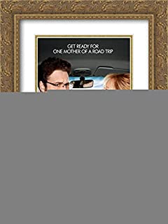 The Guilt Trip 20x24 Double Matted Gold Ornate Framed Movie Poster Art Print