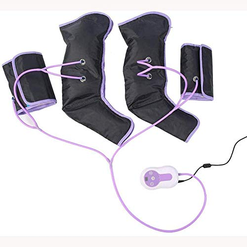 KEKEYANG Massager Leg Air Compression Massager for Foot Electric Circulation Calf Arms Wraps for Foot Ankles Calf Therapy with 9 Intensity Levels, with a Remote Control, for Home/Office Use to Relieve