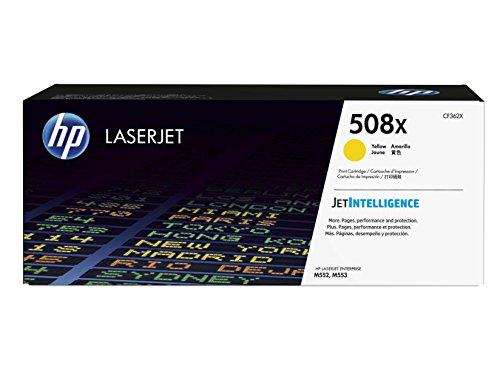 HP 508X (CF362X) Gelb Original Toner mit hoher Reichweite für HP Color Laserjet Enterprise M552dn, M553, M577
