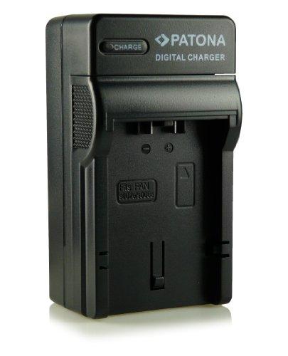 3in1 Ladegerät CGA-S006 CGA-S006E für Panasonic Lumix DMC-FZ7 DMC-FZ8 DMC-FZ18 DMC-FZ28 DMC-FZ30 DMC-FZ38 DMC-FZ50 und weitere...