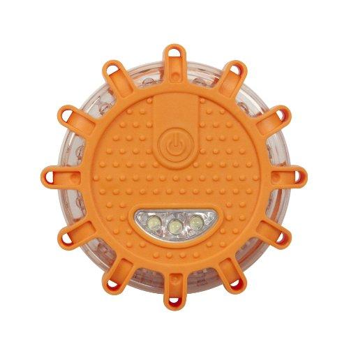 Wagan EL2639 FRED Flashing Roadside Emergency Disc LED Flare