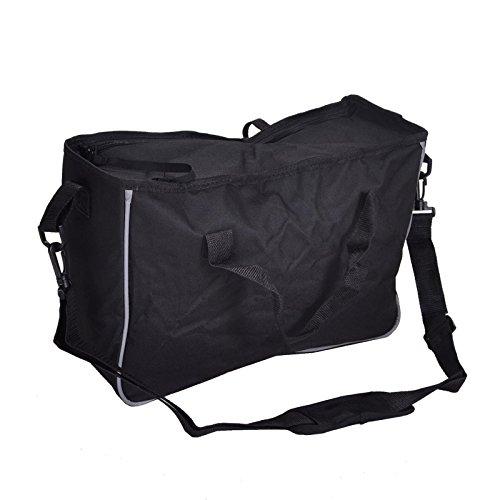 Ersatz-Einkaufstasche mit Reißverschluss für Rollator / Gehhilfe mit X-Form-Rahmen