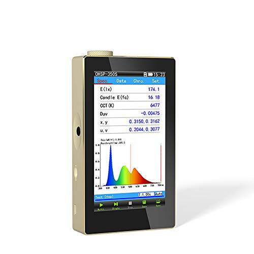 Hopoocolor OHSP350S 350-950nm Spectrometer Grow Light Tester IR Spectrometer Lab Equipment
