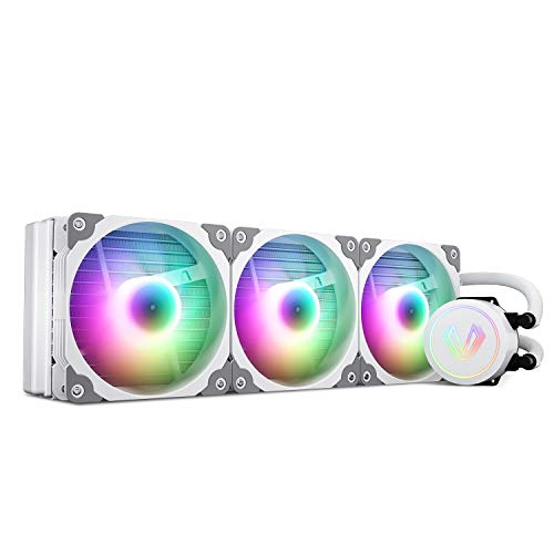 Vetroo V360 White 360mm CPU Wate...