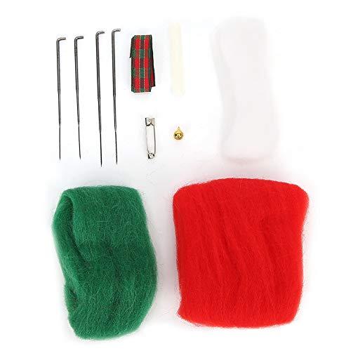 Voluxe DIY Craft - Broche de fieltro con aguja, fieltro para manualidades, fieltro, fieltro, fieltro, para amigos de fieltro de lana, accesorios para niños y adultos (broche de muleta)