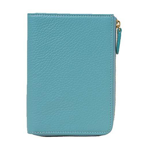 [キオッチョラ] パスポートケース パスポート入れ パスポートカバー かわいい 革 本革 パスポート ケース カバー おしゃれ 可愛い (ターコイズ)