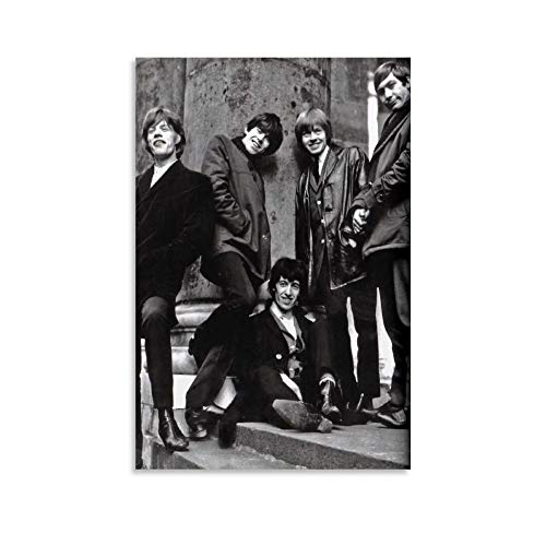 HJKJ Rolling Stones Printerest (1) Canvas Art Poster and Wall Art Picture Print Modern Family Bedroom Decor Posters 12x18inch(30x45cm)