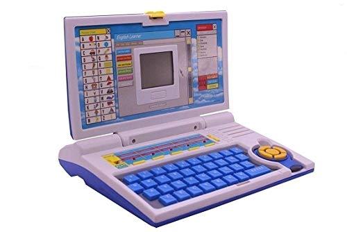 Techno Buzz Deal Fun English Learner Educational Laptop (Blue)