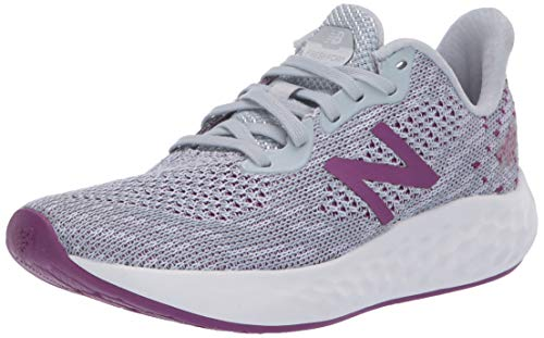 New Balance Women's Fresh Foam Rise V2 Running Shoe, Light Cyclone/Moon Dust/Plum, 6.5 M US