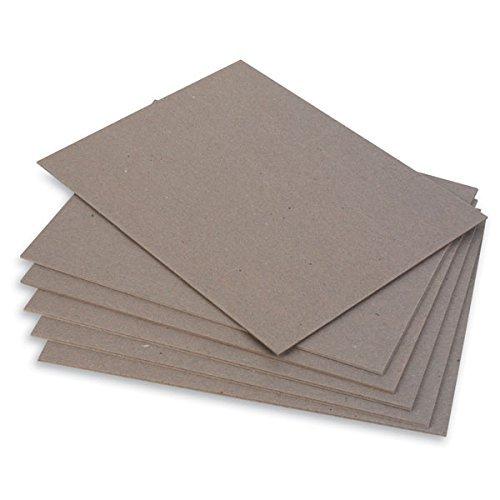 Chipboard Cardboard Sheets - Medium Weight - 25 Per Pack. (8.5 x 11)