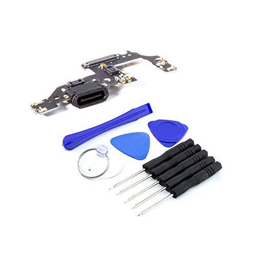 kaputt.de Dock Connector für Huawei   P10 Ladebuchse   Mikrofon   inkl. DIY Reparatur-Set