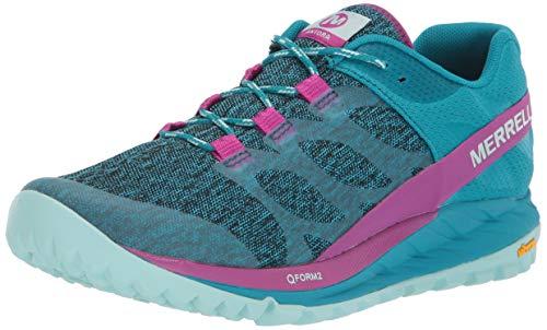 Merrell ANTORA, Zapatillas de Running para Asfalto Mujer, Multicolor (Capri Breeze), 38 EU