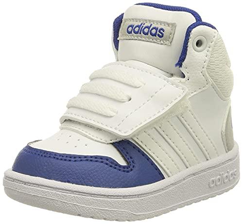 adidas Hoops Mid 2.0 I, Zapatillas, FTWBLA/FTWBLA/AZUREA, 26 EU