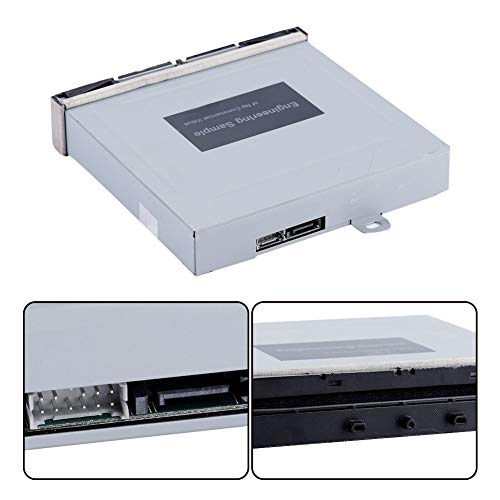 Socobeta Slot in Optical Disc Drive Lightweight DVD CD Reader Mini Size Fast Reading Drive for Game Device
