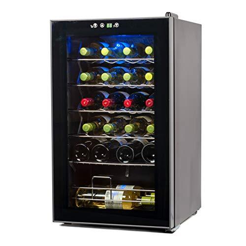 BLACK+DECKER 24 Bottle Wine Cellar, Compressor Cooling Wine Fridge, BD61526