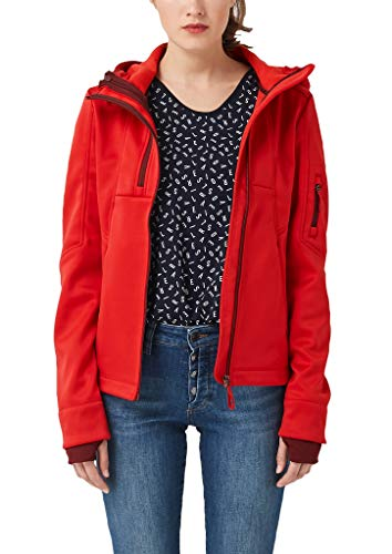s.Oliver Damen 05.908.51.7007 Jacke, Rot (Scarlet 3125), (Herstellergröße: 42)