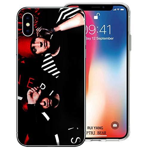 BAI JING Handyhülle für iPhone 7 und iPhone 8,(4.7 Zoll) Ultra Slim klares Muster Design Telefonabdeckung [BJDE0519]
