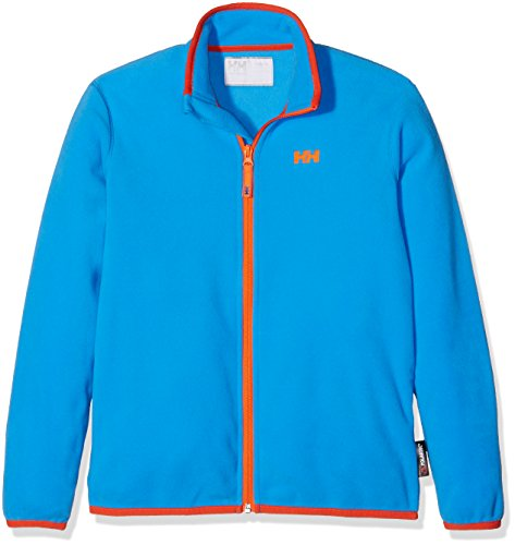 Helly Hansen Kinder Fleecejacke JR Daybreaker Fleece Jacket, Racer Blue, 16