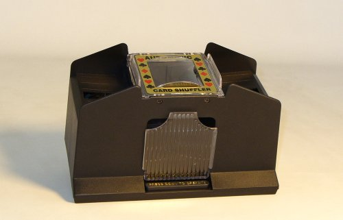 Automatic 2-4 Deck Card Shuffler Card Playing Aid Game