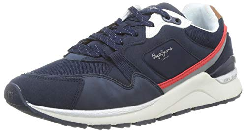 Pepe Jeans London X20 Urban, Zapatillas para Hombre, 595navy, 45 EU