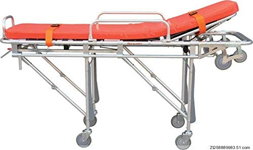 DELOVE Emergency Supplies-Aluminum Alloy Ambulance Stretcher Amb