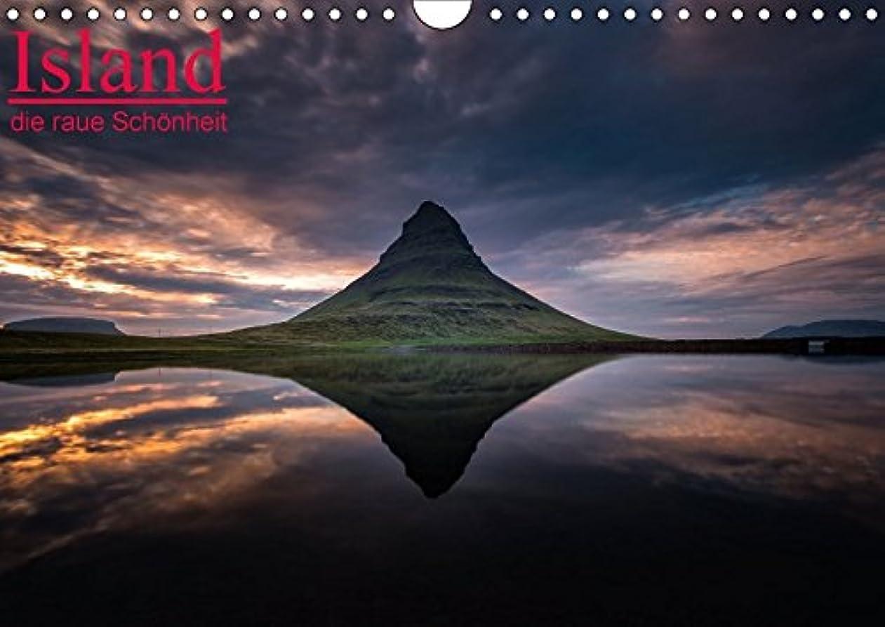 コンチネンタル通路前にIsland - die raue Schoenheit (Wandkalender 2017 DIN A4 quer): Beeindruckende Island Impressionen. (Monatskalender, 14 Seiten )
